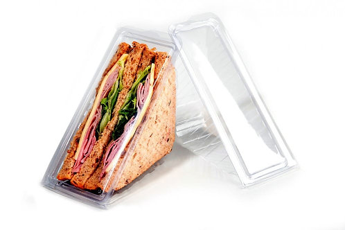 CLEAR SANDWICH DISPLAY WEDGES - 2 SIZES
