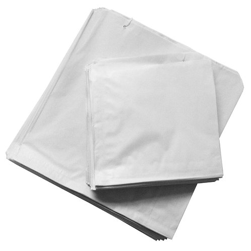 White Sulphate Paper Bags -Suitable for Food Use