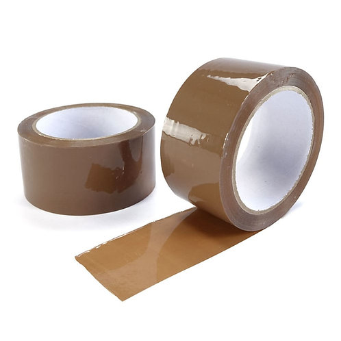 48mmx66mtr Acrylic Lownoise Tape Brown