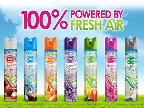 12 Pack of Charm air freshener (12 x 240ml)