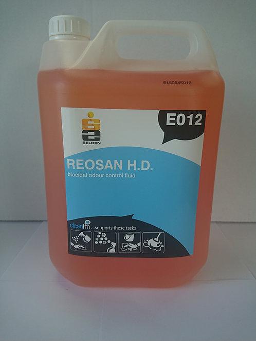 Reosan Biocidal Odour Control Fluid (Bubblegum), Unit: 2 x 5ltr