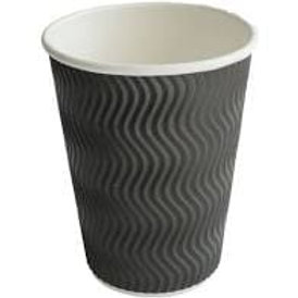 Ripple Cup Brown Kraft 12oz