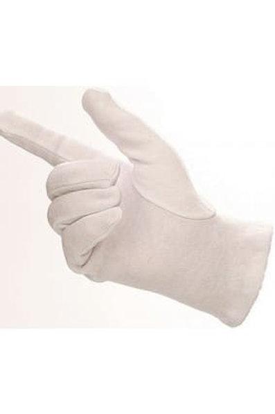Bleached Cotton Gloves Mens (1 PAIR)
