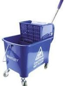 """Lady 9Ltrs Mopping Combo C/W 2""""Plastic Casters - Blue"""