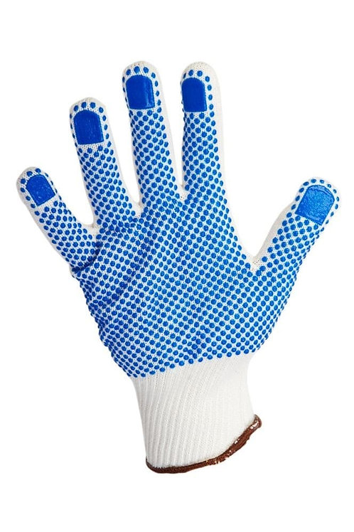 Warrier Dotted Knitted Gloves Size 10