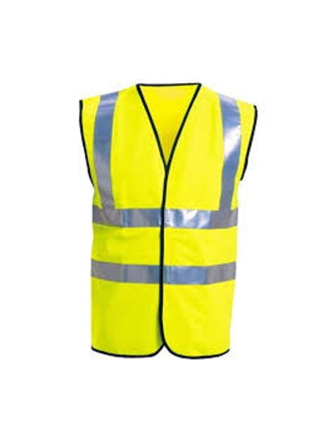 Hi Visability Waistcoat Yellow Medium