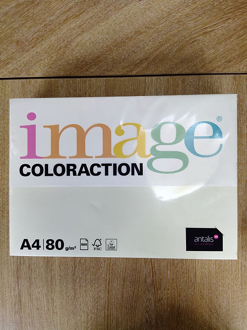 Coloraction A4 80gsm Pale Ivory