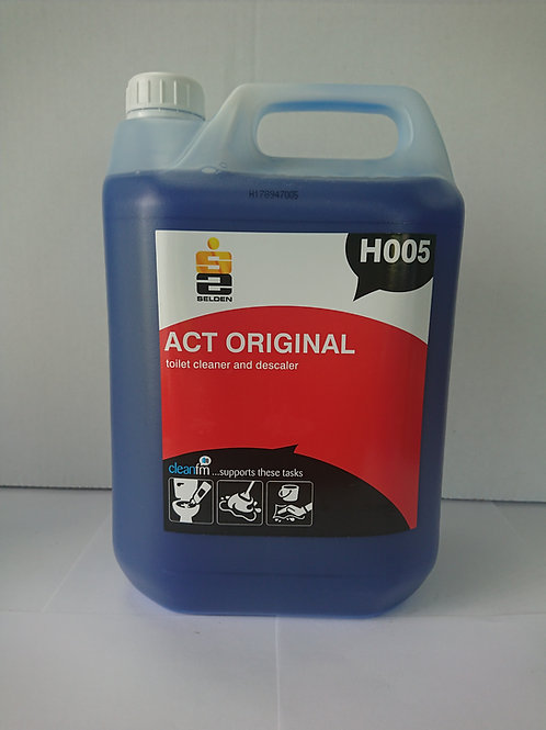 Act thick toilet bowl & unrinal cleaner 5Ltr