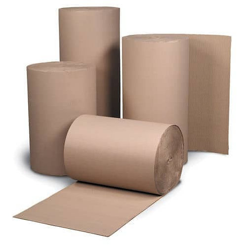 SINGLE FACED CORRUGATED ROLLS - VARIOUS SIZES