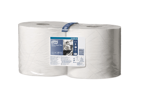 Tork Wiping Paper Plus 2Ply White 255mm