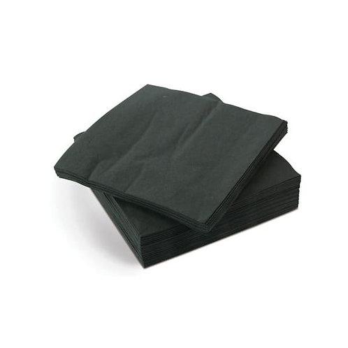 Black cocktail napkin 2ply