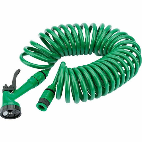 30M Garden Recoil Hose Kit with Spray gun & Tap Connector