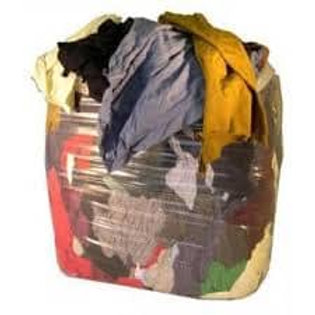 A1 Mixed Wiper Rags 10Kg