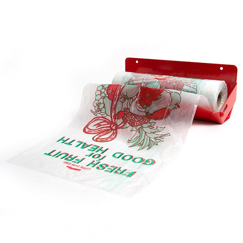 Plain & Printed Polythene Bags on the Roll Various sizes