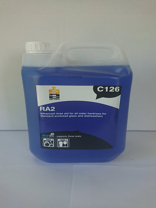 2 x 5 litre RA2 Advanced Rinse Aid