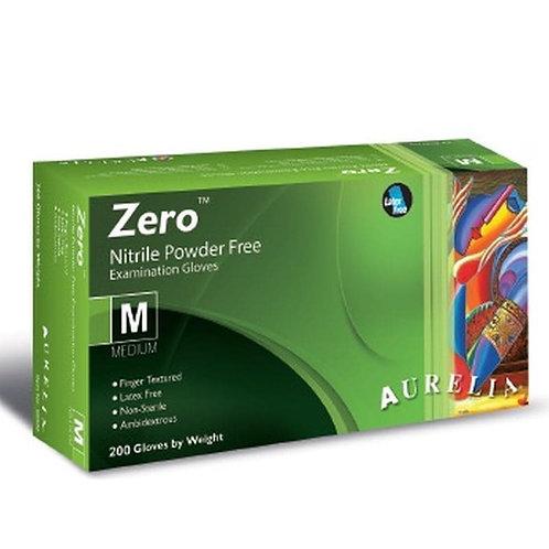 200 x AURELIA Zero Accelerator-Free BLUE Nitrile P/F Examination Gloves