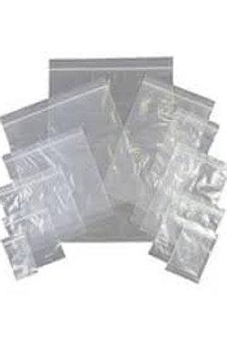 "10x12"" Clear Light Duty Poly Bags 120gu"