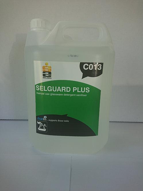 Selguard Plus Glasswash Detergent, Unit: 2 x 5ltr