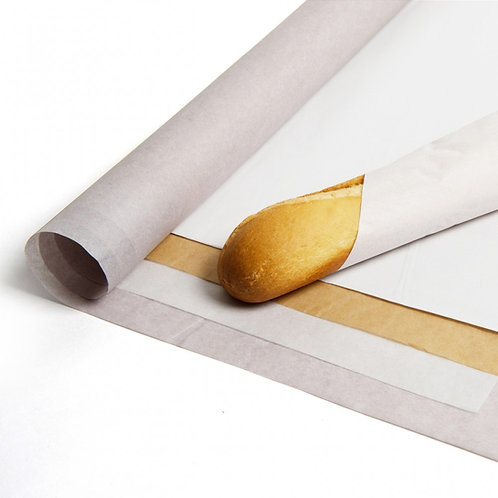 PURE GREASEPROOF PAPER SHEETS - WHITE & NATURAL ALL SIZES