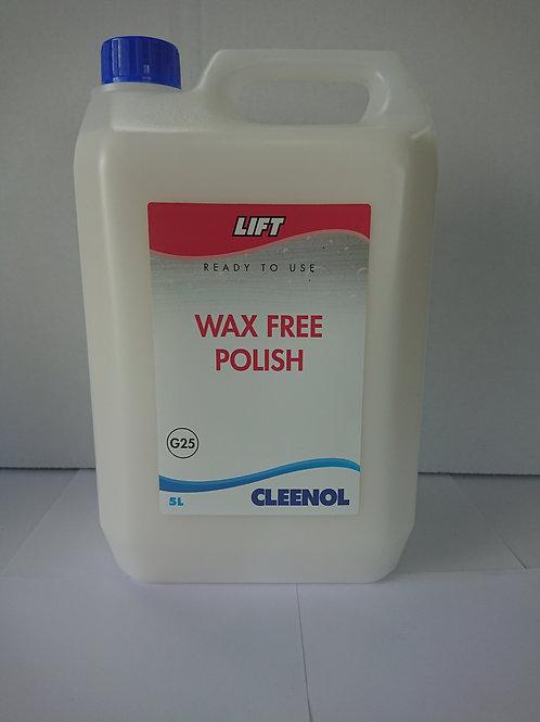 Lift wax free polish 2 X 5 litre