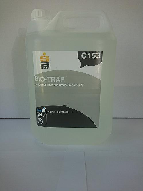 2 x 5 litre Biotrap Biological Drain & Grease Trap Opener