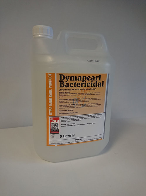 Dymapearl Bactericidal Mild Hand Cleaner White ( 2 x 5 litre)
