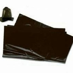 "20x34x39"" Black Refuse Sack 160gu"