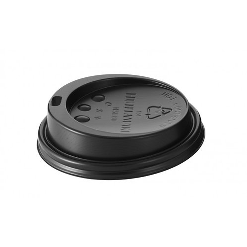 Lid For 12oz Black Paper Ripple Cup