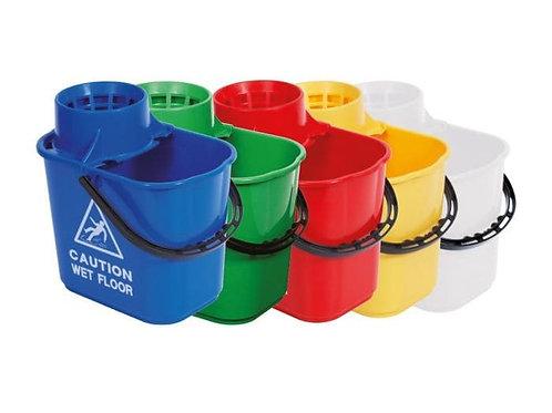 15ltr Professional Bucket & Wringer Various Colours