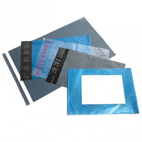 CLEAR Poly Mailing bags - Perm Self Adhesive - High Strength - TFP