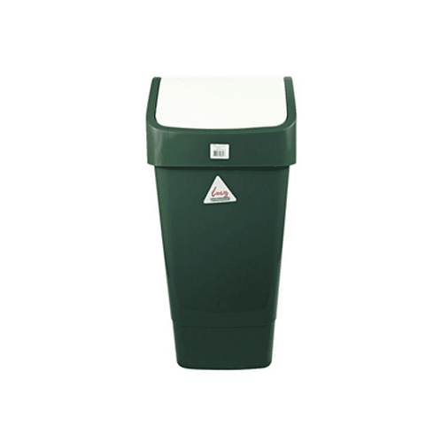 Green Swing Top Bin Complete 50 Litre