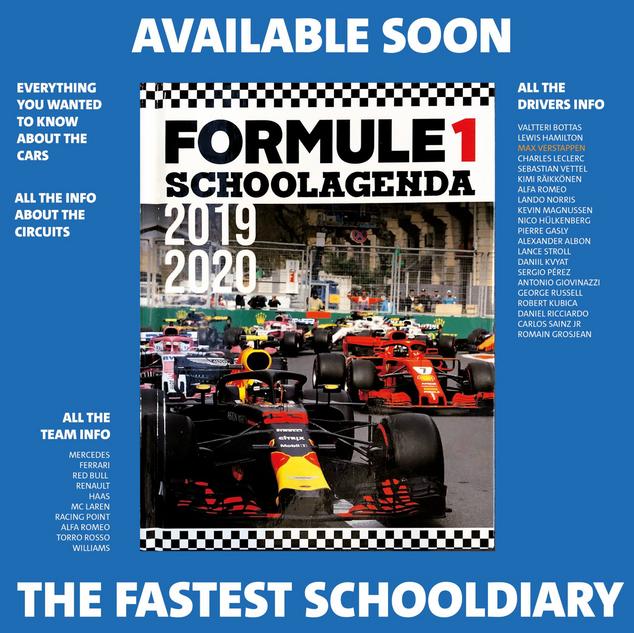 Schoolagenda Formule 1