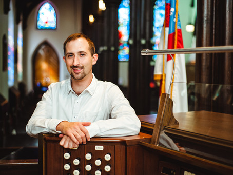 Welcome our new organist and Director of Music