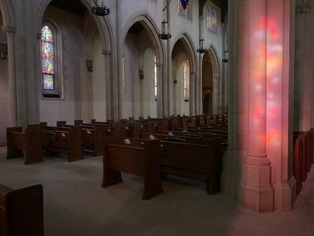 Eucharist in an Empty Church