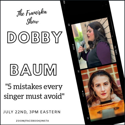 5 Mistakes every singer should avoid with Dobby Baum