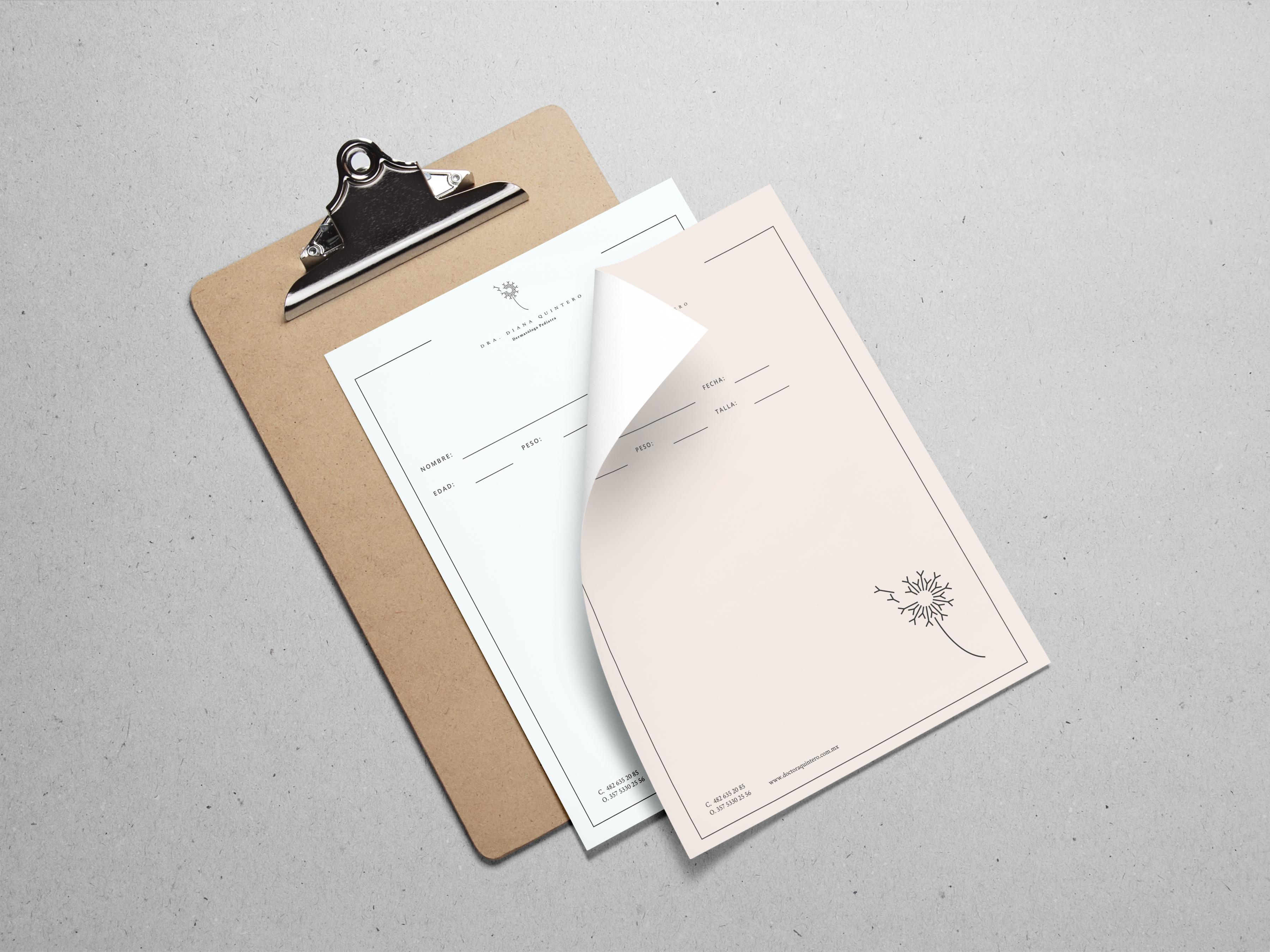 A4 Paper PSD MockUp Vol3