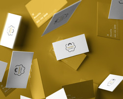 Falling-Business-Card-Mockup-Vol3