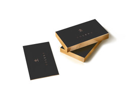 BUSINESS CARD NEGRAS
