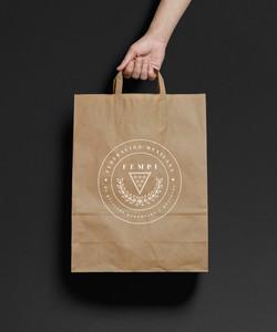 Brown Paper Bag MockUp2