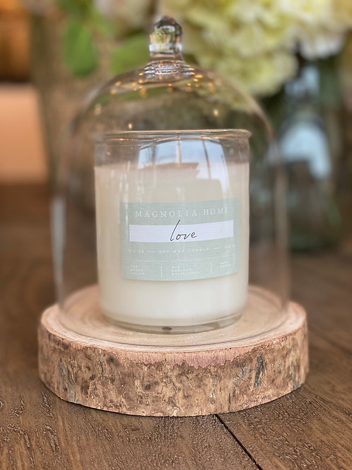 Love Scented Candle 60 hr Burn Time