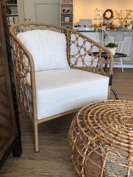 Rattan Woven Chair and Ottoman.jpeg
