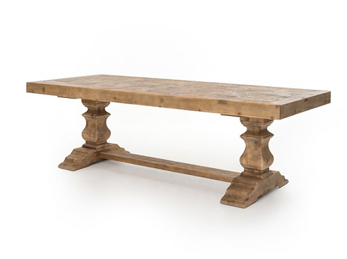 """Castle 98"""" Dining Table"""