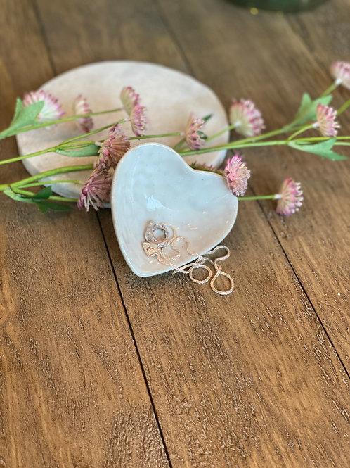Porcelain Heart Shaped Dish