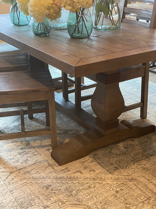 """Kyle 78"""" Fixed Top Dining Table"""
