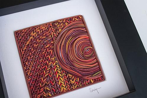 Woven Texture Original Wall Art