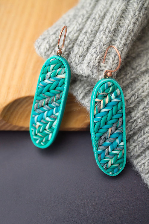 Abstract Design Contemporary Earrings