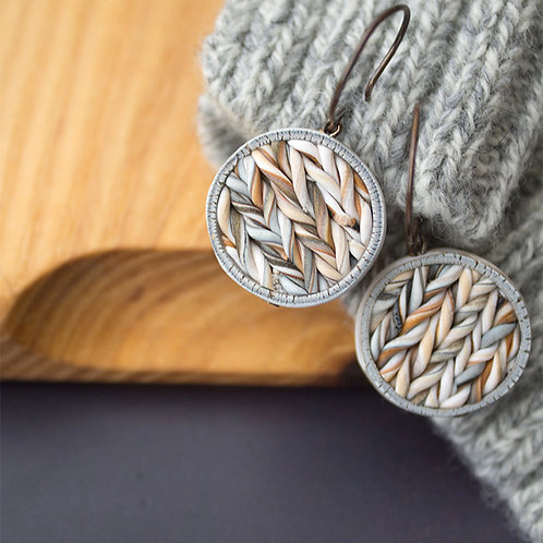 Contemporary Texture Earrings