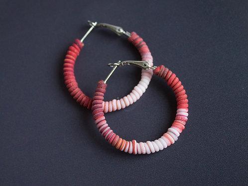 Vibrant Red Earrings
