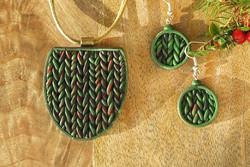 Knit Inspired Jewellery Set