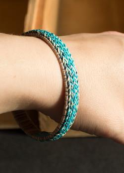 Narrow Knit Inspired Bracelet